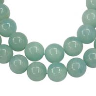 16 Inch Natural Amazonite 4mm Round Beads